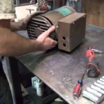 Troubleshooting air compressor motor.