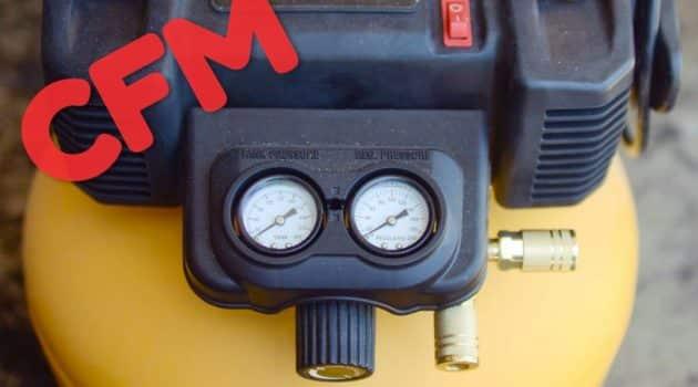 A compressor with 2.6 SCFM