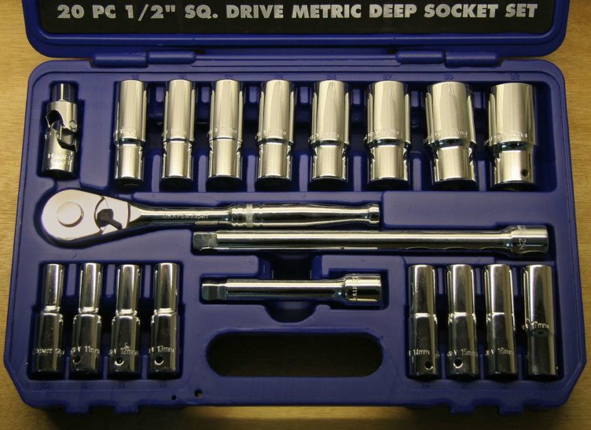 Deep Socket 20 pieces set